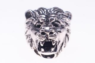 Bartperle und Lockenperle Lejon Löwenkopf, Silber 925
