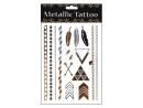 Metallic Tattoo Klebe Tattoo, Motivserie 2