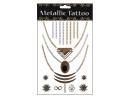 Metallic Tattoo Klebe Tattoo, Motivserie 3