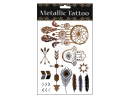 Metallic Tattoo Klebe Tattoo, Motivserie 4