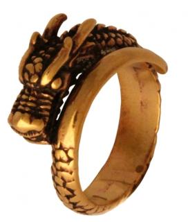 Ring Drache Tameran, Bronze 16,5 / 52