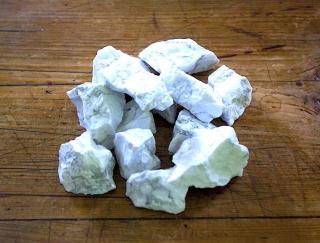 Wassersteine Magnesit Rohsteine, 100g
