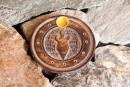 Räucherstäbchenhalter Göttin, Holz geschnitzt