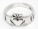 Ring CLADDAGH, Silber 925