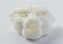 Bartperle und Lockenperle Wolfskopf 1, Knochen