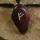 Amulett Anhänger Rune Fehu, Rosenholz
