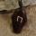 Amulett Anhänger Rune Uruz, Rosenholz