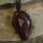 Amulett Anhänger Rune Thurisaz, Rosenholz