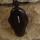 Amulett Anhänger Rune Isa, Rosenholz