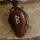 Amulett Anhänger Rune Berkana, Rosenholz