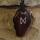 Amulett Anhänger Rune Dagaz, Rosenholz