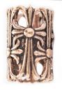Bartperle und Lockenperle Ritterkreuz, Bronze