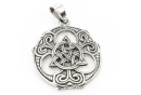 Amulett Anhänger Keltische Triade, Silber 925