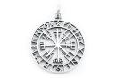 Amulett Anhänger Großer Wikinger Kompass...