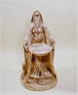 Altarfigur Danu