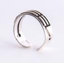 Atlantisring Ring der Schützer, Damengröße Silber 925