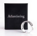 Atlantisring Ring der Schützer, Herrengröße Silber 925