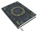 Buch der Schatten Pentagramm mit Efeu