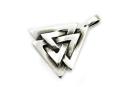Anhänger Odins Knoten Walknut, Silber 925