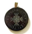 Runenamulett Rune der Unbesiegbarkeit, Rinderhorn