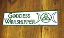 Aufkleber Goddess Worshipper