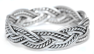 Ring Freundschaftsring Halvar, Silber 925 18 / 56