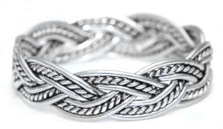 Ring Freundschaftsring Halvar, Silber 925 18,5 / 58