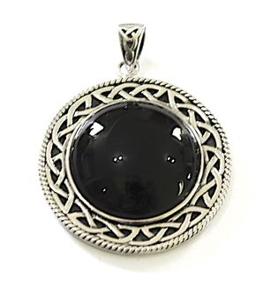 Amulett Anhänger Hexenspiegel, Peter Stone, Silber 925