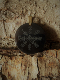 Amulett Anhänger Odins Stern