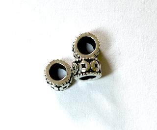 Bartperle und Haarperle Vikings, Silber 925