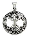 Amulett Anhänger Iggdrasil, Silber 925