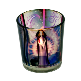 Teelicht Glas, Wicca