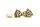 Ohrstecker Wotans Knoten, Bronze, 1 Paar