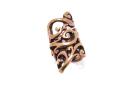 Bartperle und Haarperle Zauberranke, Bronze