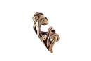 Bartperle und Haarperle Follaxe, Bronze