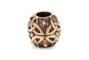 Bartperle und Haarperle Keltischer Knoten, Bronze