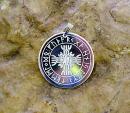Runenamulett Rune der Unbesiegbarkeit, versilbert
