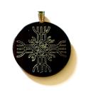 Amulett Rune der Unbesiegbarkeit, Horn