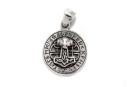 Anhänger Runenhammer massiv, Silber 925