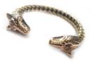 Armreif WOLVE BERSERC für Männer, Bronze