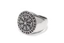 Ring Vegvesir Vegvisir, Silber 925
