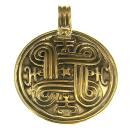 Anhänger Amulett Schildknoten, Bronze