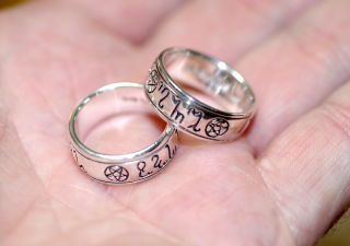 Ring Pagans Together, Silber 925, Peter Stone