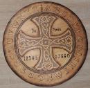 Witchboard Ouijaboard Hexenbrett Keltisches Kreuz rund,...