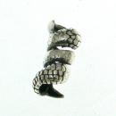 Bartperle Haarperle Drachenkralle, Silber 925