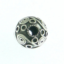 Bartperle Haarperle Celtic Universe groß, Silber 925