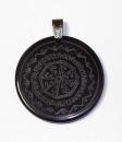 Runenamulett Schild der Walküren, Rinderhorn