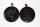 Amulett Anhänger Wolfszauber, Rinderhorn
