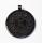 Runenamulett Glücksrune, Rinderhorn