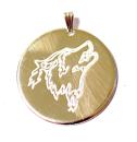 Amulett Anhänger Wolf